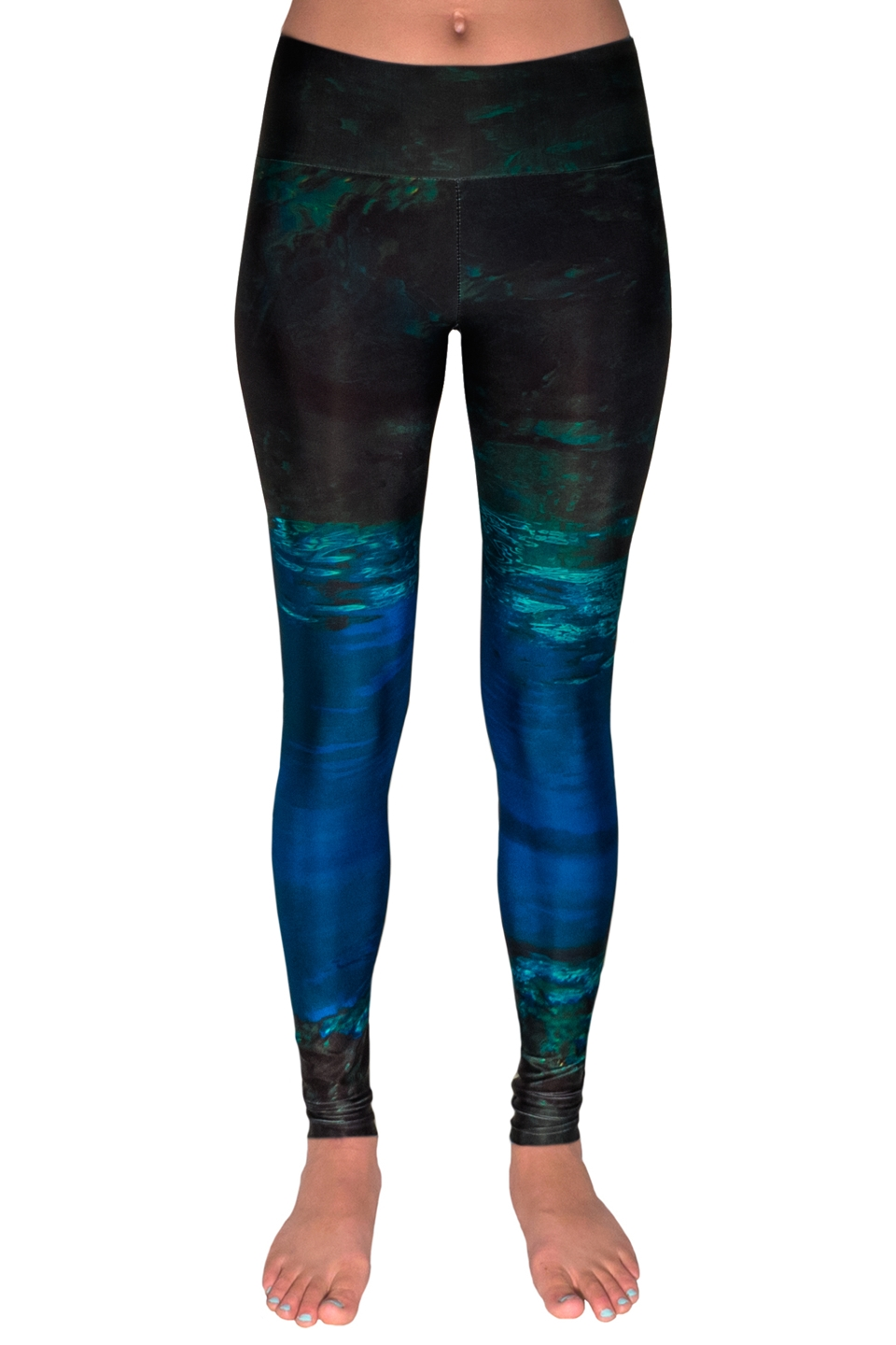 Mermaid Camo Leggings