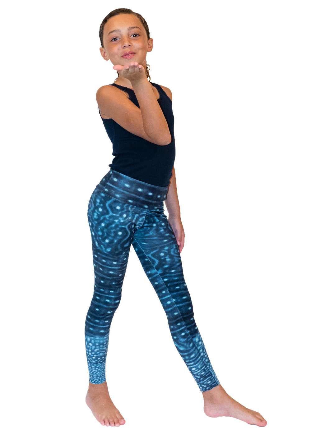 Waterlust Kids Whale Shark Leggings