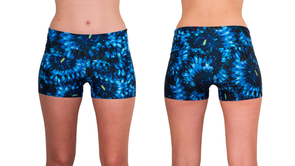 Cosmic Coral Shorts