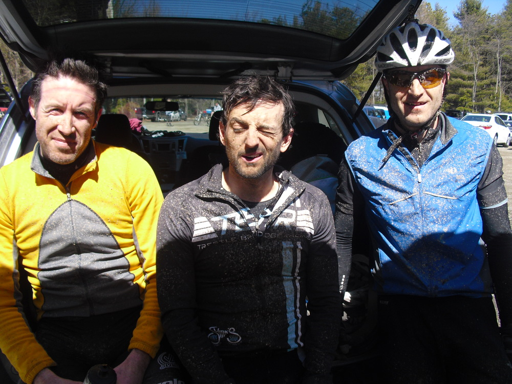 Michaux - End of Race - Jason, Ron and Dunc.JPG