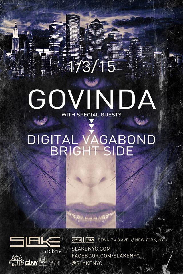 Digital Vagabond 2015.1.3 Govinda @ Slake.jpg