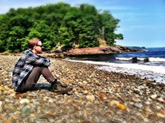 Digital Vagond on beach, maine 7.14.14.jpg