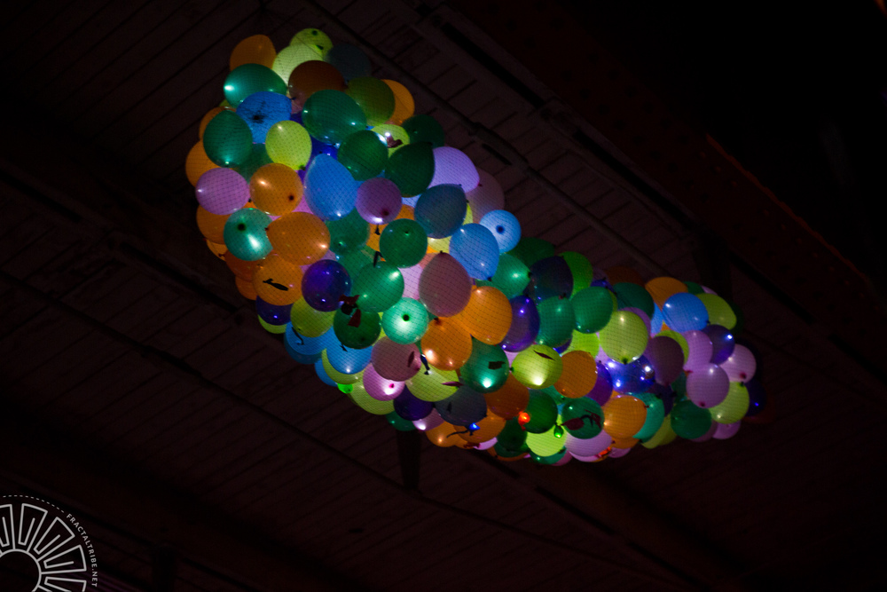 LED Balloons @ Year of the Fractilian