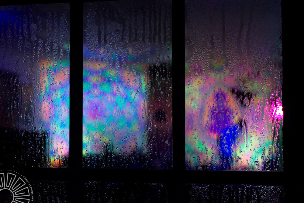 Tie Dye Condensation @ Fractaltribe presents Year of the Fractil
