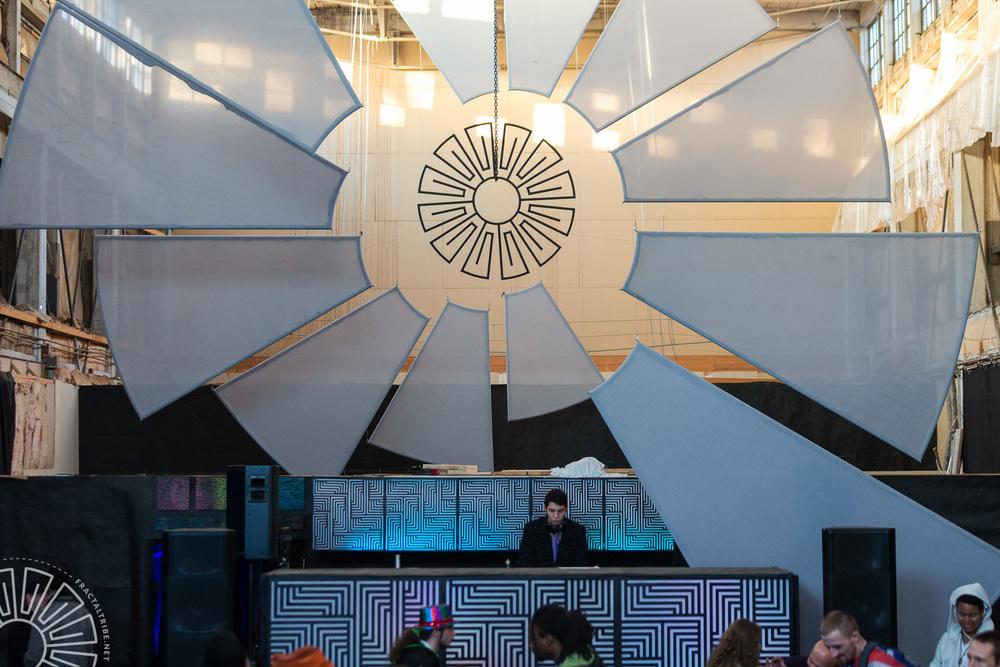 Vudoo Runner Sunrise set @ Fractaltribe presents Year of the Fra