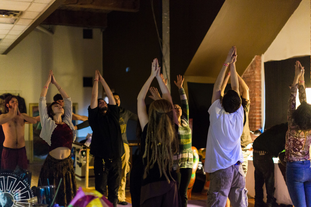 Sunrise Yoga @ Fractaltribe presents Year of the Fractilian 12/3