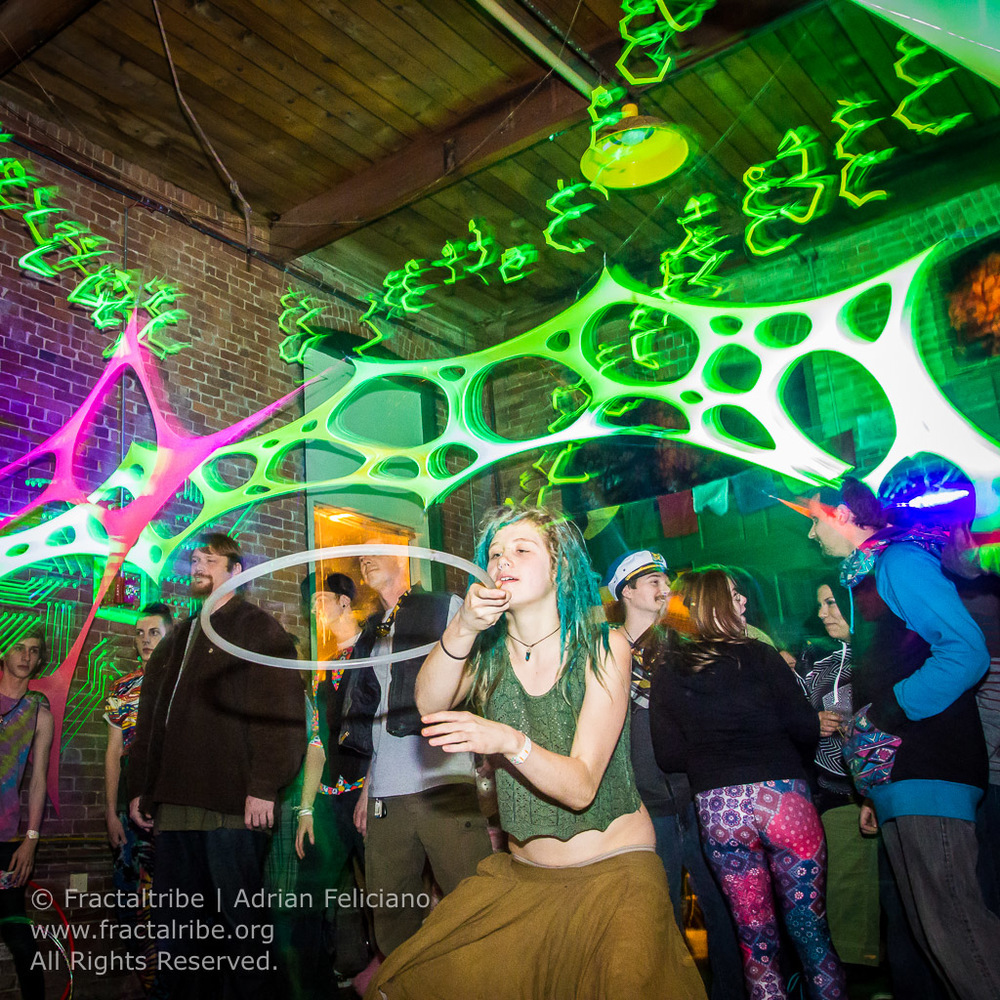 Fractaltribe Presents Spiral Future New Years Eve 2016 | Adrian Feliciano | alphajulietfoxtrot.com | Boston, MA