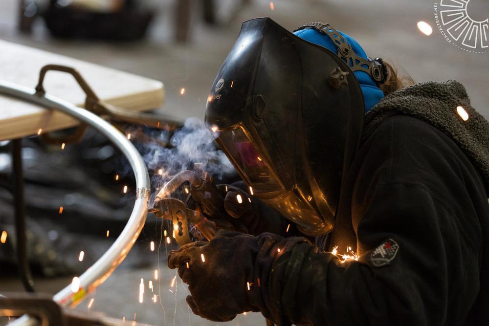 Artemis welding deco for Flibbersqorkle @ .:therapy, Providence, RI