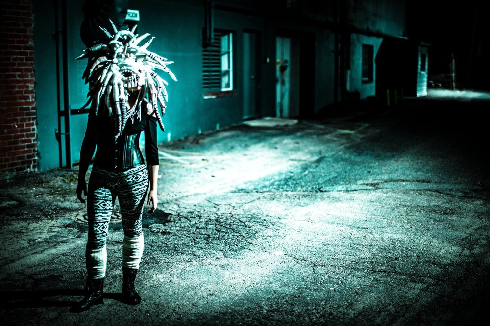 Photo by Andrey Trofimov, mask by Charlotte Ray Janowski