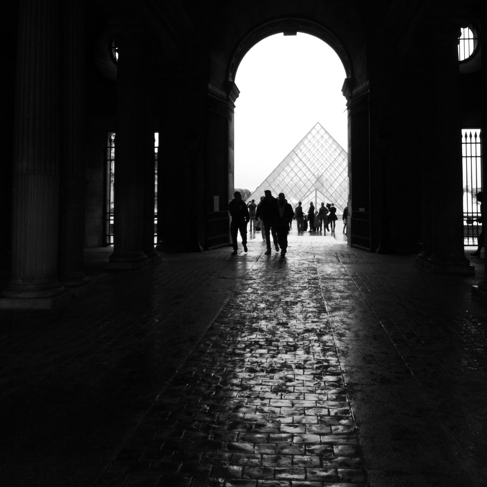 Paris, France - The Louvre  8 November 2013