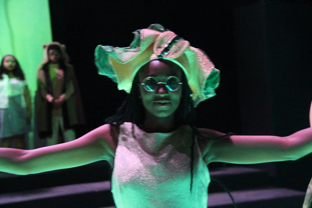 Dancer in Emerald City Ballet