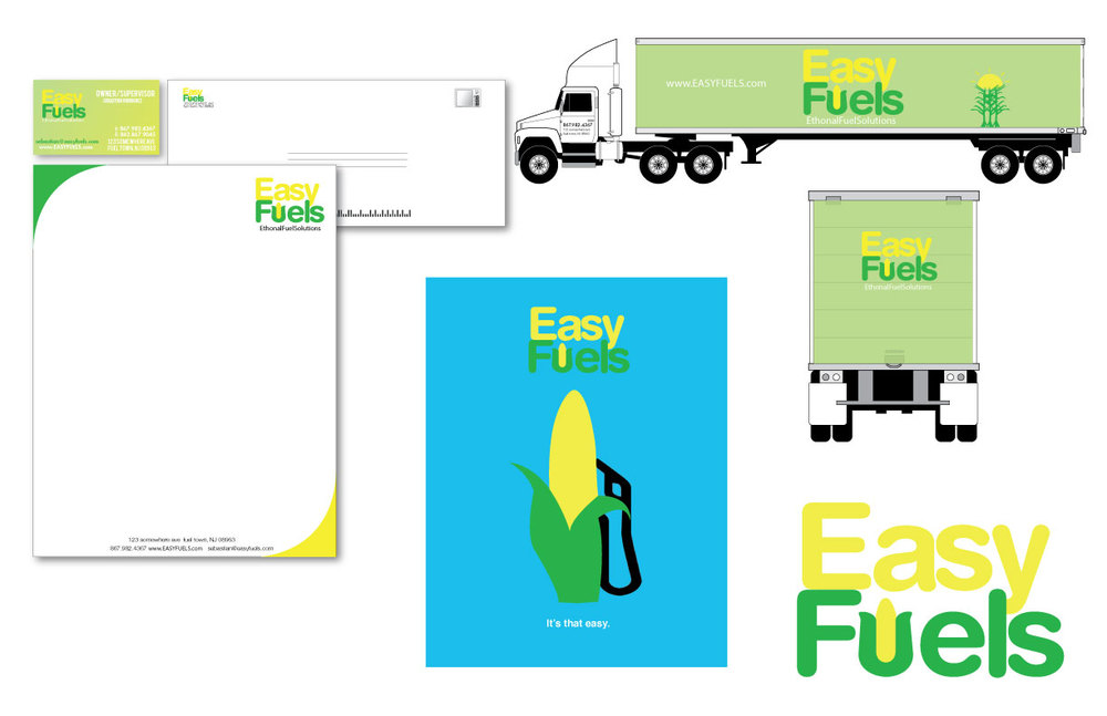 Create alternative energy company and stationary accordingly.