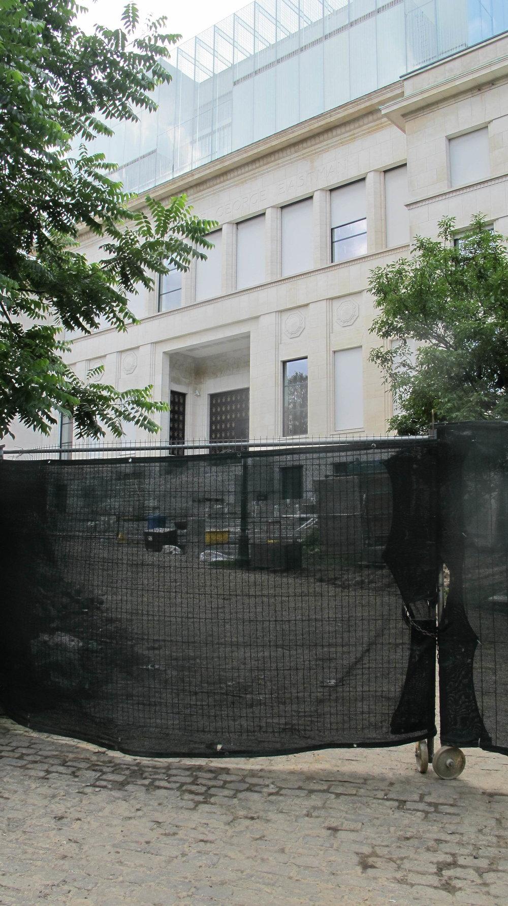 House of European History, under uppbyggnad. Foto: Ann Ighe