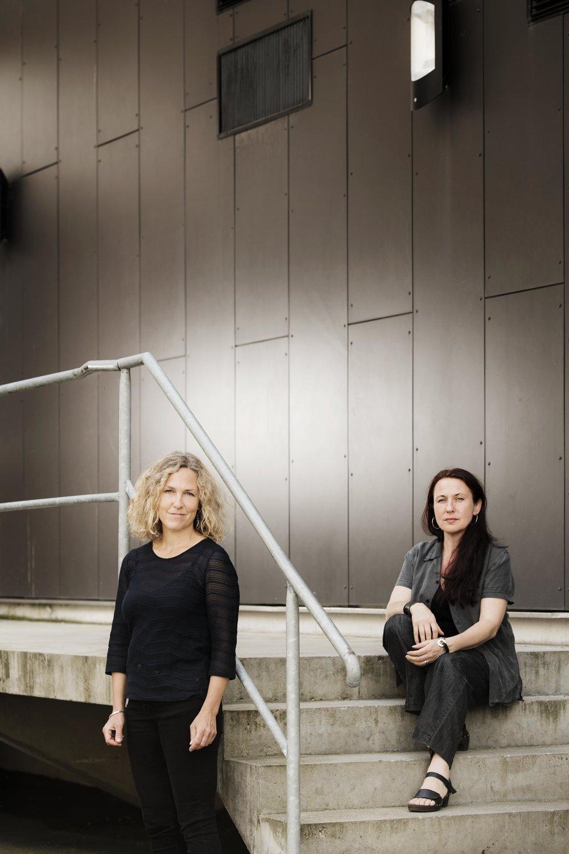 Ord&Bilds redaktörer Marit Kapla och Ann Ighe. Foto: Ola Kjelbye