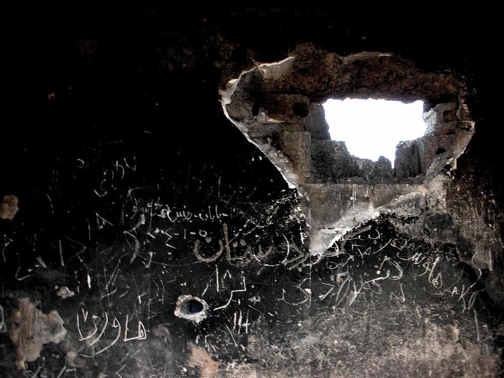 """""""Med vetskap om att stadens invånare var upprorsbenägna hade Saddam Husseins regering byggt ett ökänt fängelse i Slemani."""