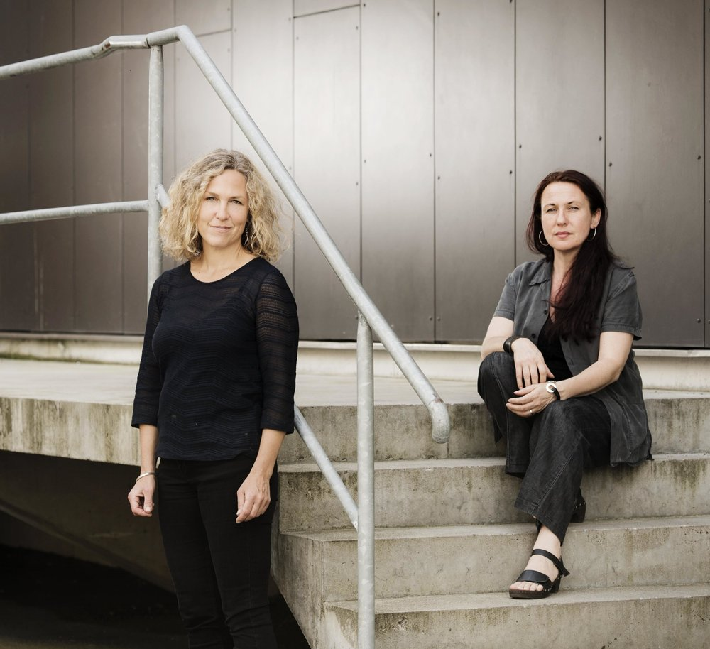 Ord&Bilds redaktörer Marit Kapla och Ann Ighe. Foto: Ola Kjelbye.