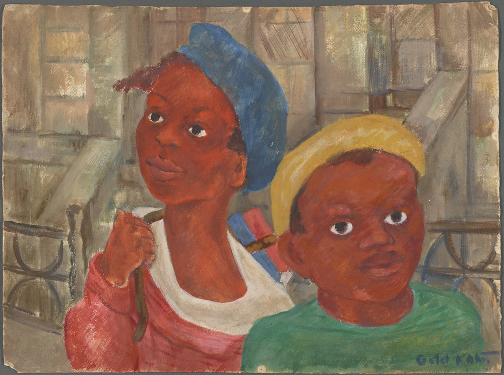 Schomburg Center for Research in Black Culture, Art and Artifacts Division, The New York Public Library. (1935 - 1943).  Two Boys  av G. Kahn.