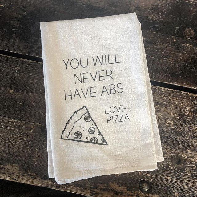 Pizza Forever! New dishtowel alert 🚨 🍕🚨🍕🚨🍕🚨🍕🚨🍕