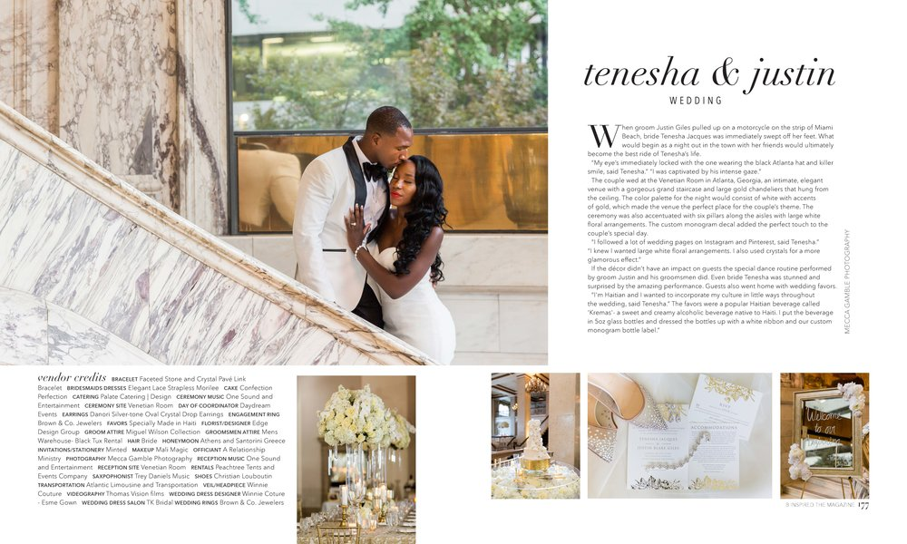 Snap Shot of Feature from B Inspired The Magazine
