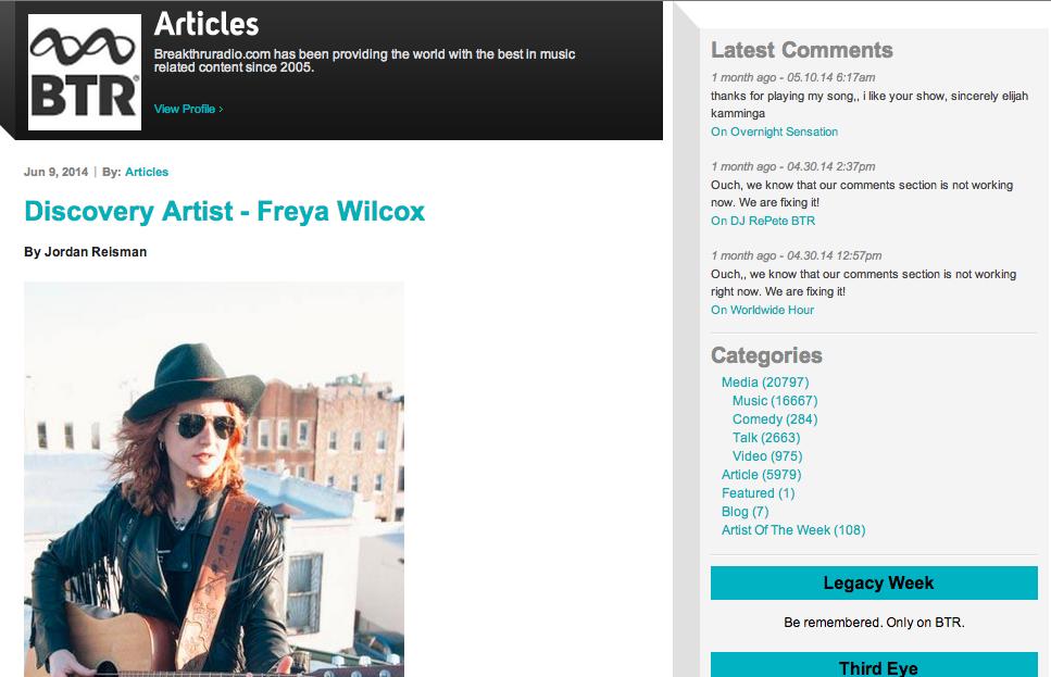freya-wilcox-breakthru-radio