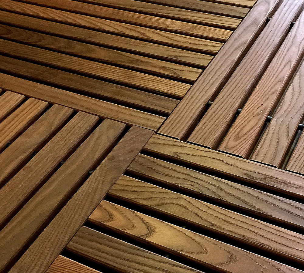 Terrace ( Thermory Hardwood-Ash   )