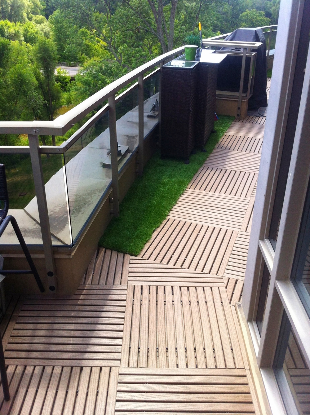 Other Applications ( grass   tile inserts  installed at a condo)