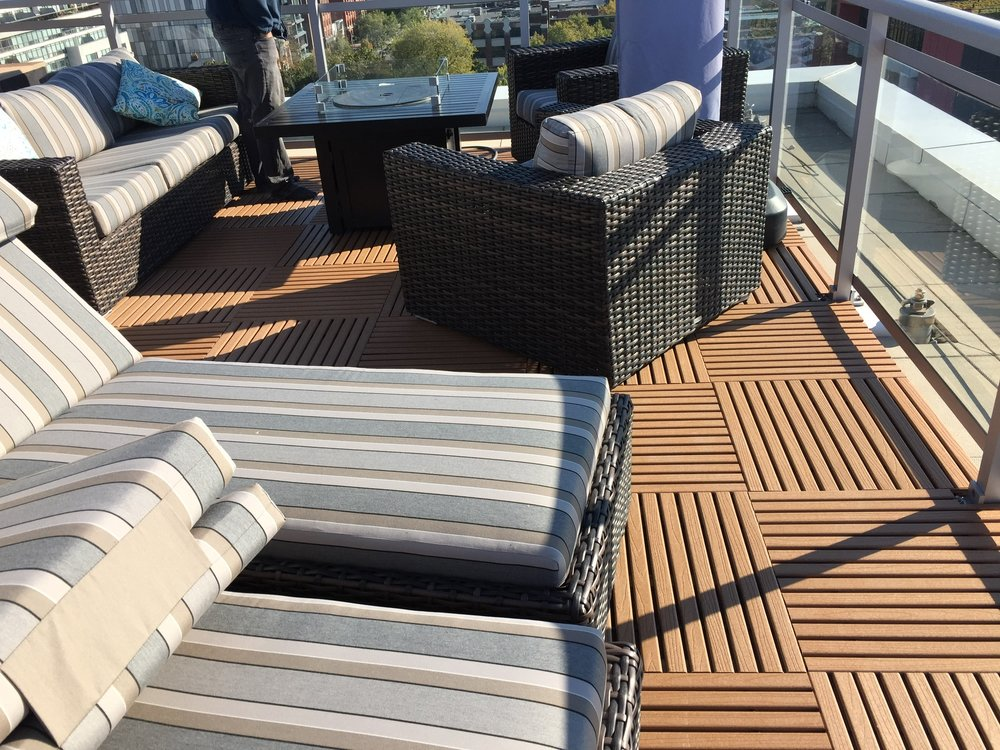 Terrace  (Recycled Plastic - Caramel    )