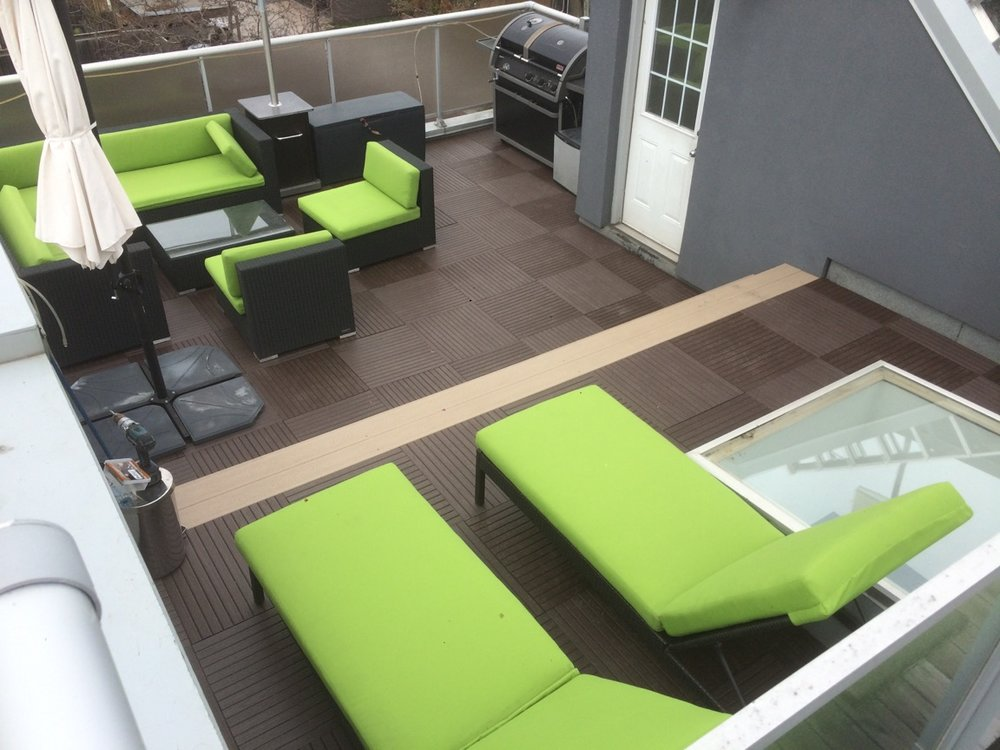 Terrace  (Recycled Plastic - Chocolate)