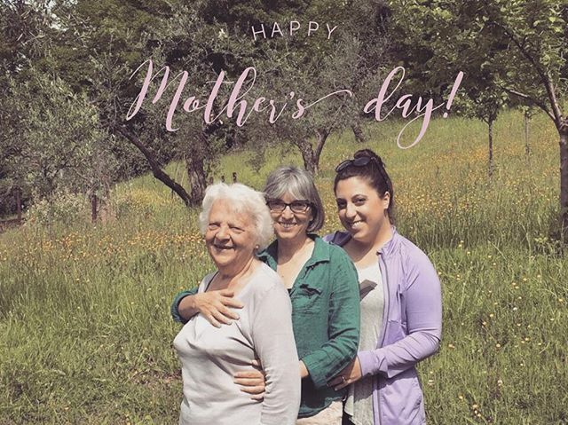 Happy #mothersday from Baby Steps Nonna, Mamma and Daughter! From the hills of Italy, to the streets of philly... We wish you a day full of love and appreciation! Thank you! 💕🐘💕 #oursuperheroes #momsknowbest #everydayismomday 👉👉 don't forget to participate to the #momspa #giveaway!!! You have until midnight tonight! Look for the do flyer in our IG👈👈💐🌺🎉🎁