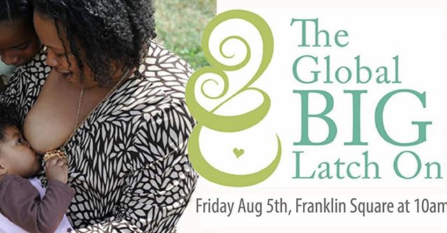 Come and join us at this global celebration to support and promote breastfeeding in our city!🍼🍎👶🏽 we are going to be there with a table, giveaways and a raffle! Join us and the @maternitycarecoalition on August 4th! #biglatchon2016 #breastfeeding #phillybreastfeedingmoms