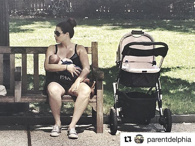 "#Repost @parentdelphia with @repostapp ・・・ ""I'm not very shy - so it doesn't make me uncomfortable.  Knowing that other people are so weird and freak out at other woman is what makes me feel I could be accosted at anytime""  #phillymom #phillyparent #breastfeeding"