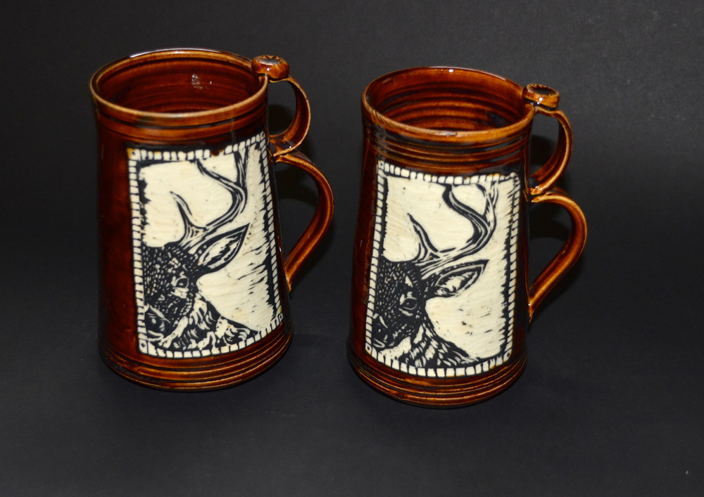 Deer Beer Steins SOLD