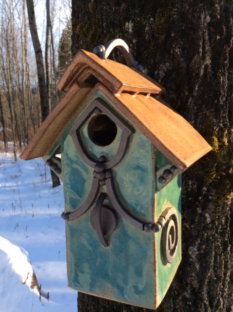Titmouse Birdhouse