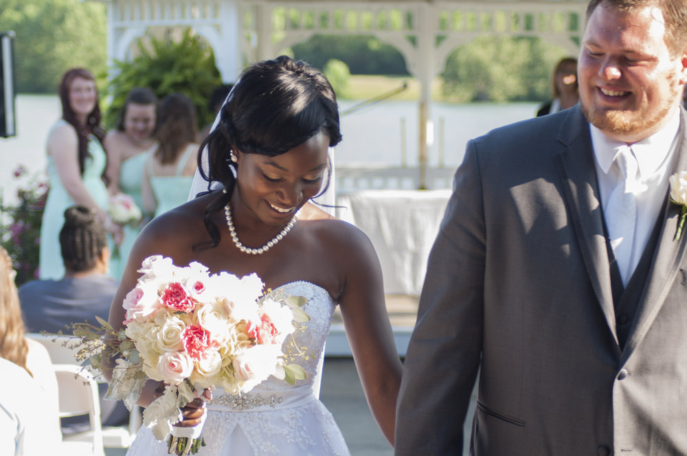 Click to see more pictures of Kennedy & Andy's big day