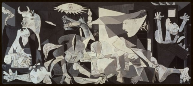 Guernica   by   Pablo Picasso  . 1937. Oil on canvas
