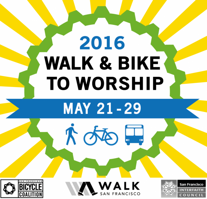 Lighthouse will observe the Bike-to-Worship event on May 22, 2016