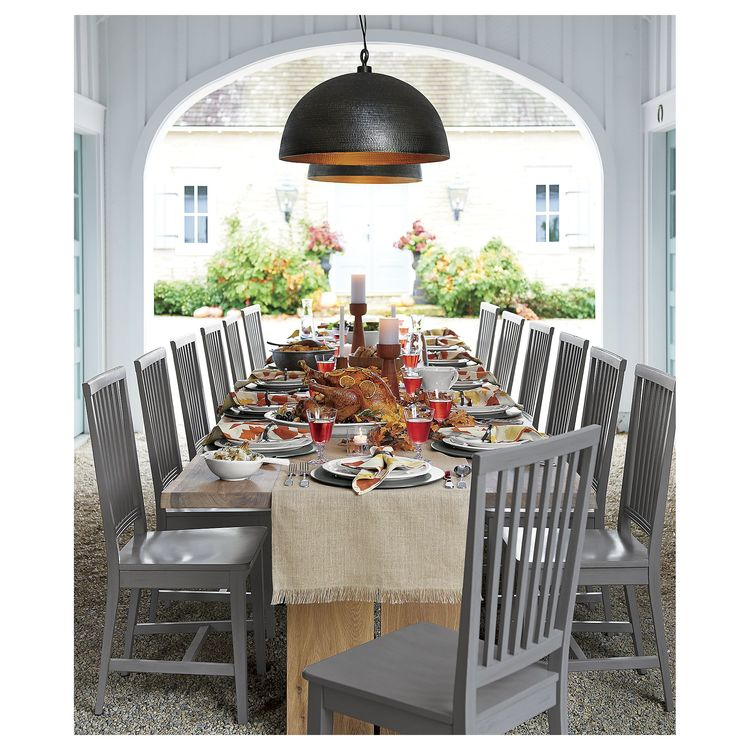 CRATE Amp BARREL DAKOTA 99 DINING TABLE This Farmhouse Table By Crate