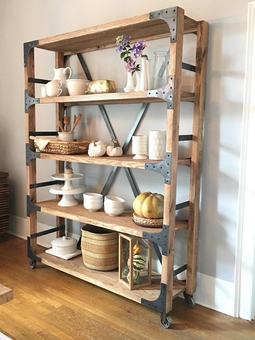 Our   White Shanty Design   shelf is ready for its Fall closeup!! Gah, I love this shelf so much!! I can't wait for you all to see much more. Our line with White Shanty will be out October 14th!! It's a dream come true.     I mean it's going to be amazing!! They gave me a sneak peek of the sliding barn door and it's beyond fabulous. I cannot wait to show y'all everything!! There are several pieces!!  They are incredible to work with and I love how everything is handmade, not to mention they have the sweetest hearts and a beautiful family to match!! ❤️❤️❤️❤️
