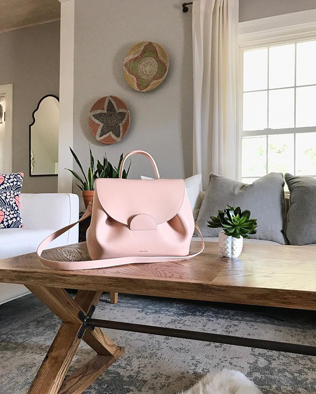 today was beautiful out and we had fun making breakfast for dinner! I've been breaking in my new @polene_paris 👜 It's handmade, family owned (two brothers and a sister) and based out of Paris. We love supporting family owned businesses. You'll have to check them out. Sweet dreams friends! ✨. #livingroominspo #handmade #poleneparis