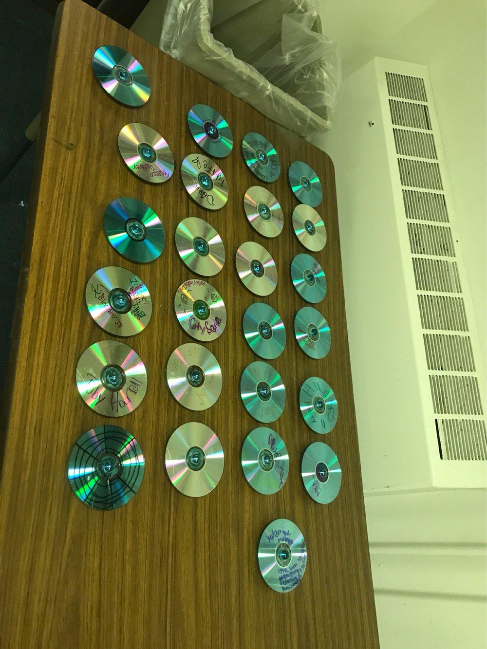CD Fidget Spinners!