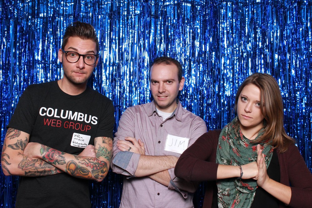 Getting sassy at the holiday meetup of meetups! Want more? Check out the gallery.
