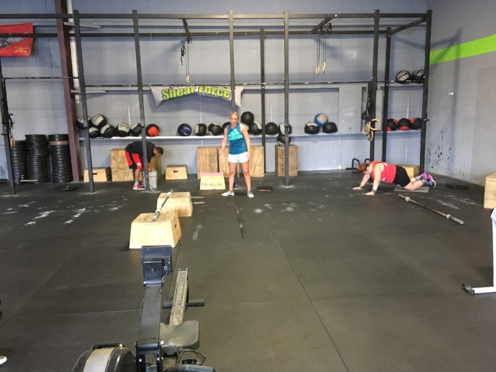 FOR TIME 3 Rounds 400m Run 20 Pull-ups 20 Push Press (115/75)  (15:00 Hard Cap)