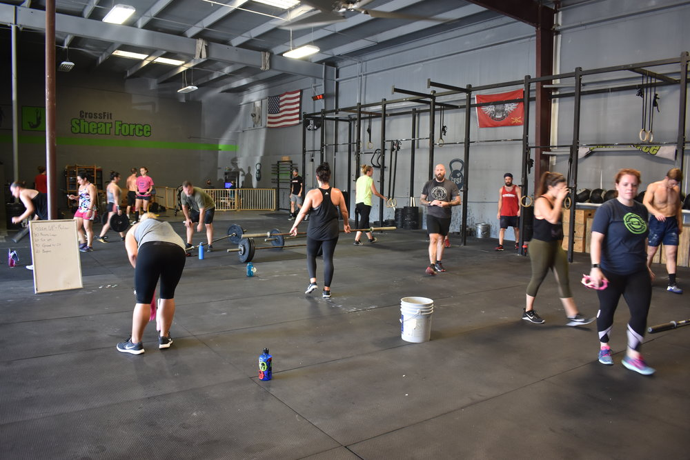 WORKOUT EMOM x 20 MINUTES Minute 1 - 10/8 Calorie Bike Minute 2 - 10 Thrusters (95/65) (75/45)