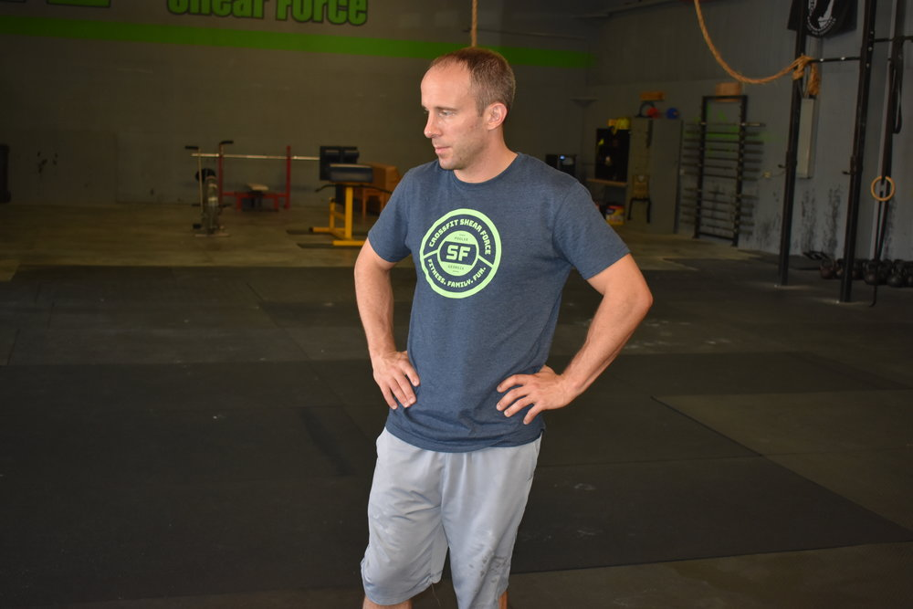 8 ROUNDS FOR TIME 250m Row 10 DB Burpees (35/25) (25/15) 5 Strict Pull-ups