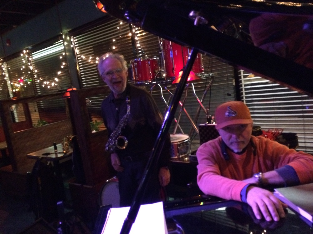 Jimmy Cameron and Jerry Bergonzi 2014, Acton Jazz Cafe