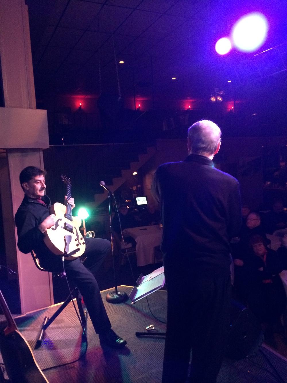 John Baboian, Steve Marvin, Sahara Club, 2014
