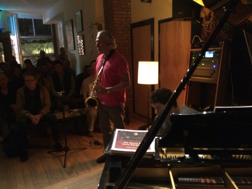 Jerry Bergonzi, Chris McCarthy at the Lily Pad, 10/20/14