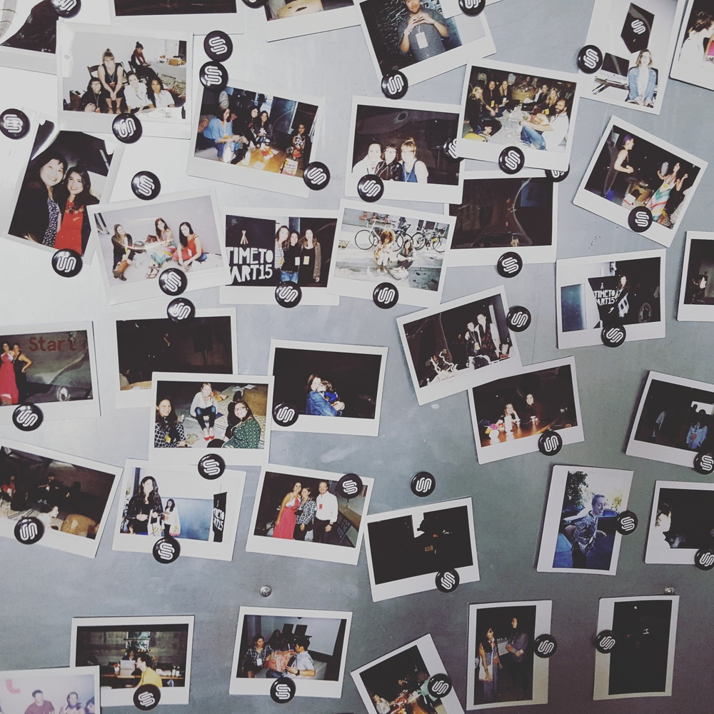 Start-Conference-Poloroid-Wall