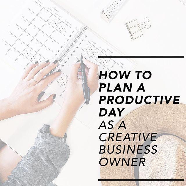 New post on the B L O G today and it's a goodie for the midweek ✨How to plan a productive day as a creative business owner✨ I'm sharing some quick tips from the blog in my story 👆🏼so be sure to check that out too. The Goal Getter Action Planner is up for grabs so if you haven't downloaded your free copy yet hit that link in bio 🙌🏼