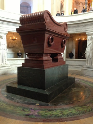 "Napoleon Bonaparte and his son ""the Eaglet""  had an unbelievable crypt."